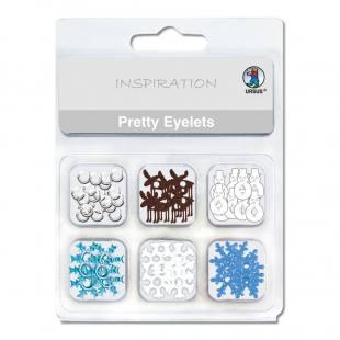Brads - Eyelets (Motiv Winter)