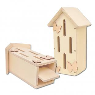 Schmetterlingshaus-Bausatz