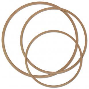 Gymnastik-Reifen Holz