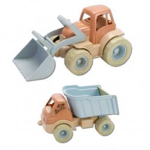 Sandkasten-Traktor und -Truck aus Bio-Kunststoff