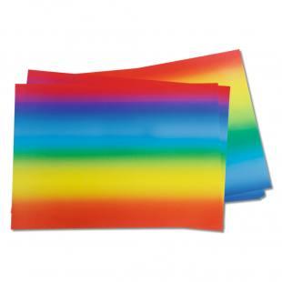 Regenbogenpapier - in verschiedenen Varianten