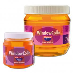 WindowColle® Kleber für Fensterdeko