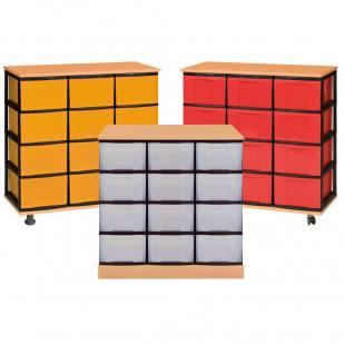Modulus® Eigentumsschrank mit 12 Schubladen