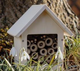 Kleines Insektenhotel für Kinder