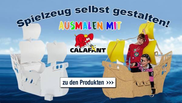 Spielzeug selbst gestalten! Ausmalen mit Calafant