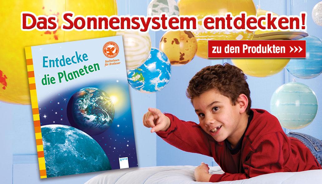 Entdecke unser Sonnensystem