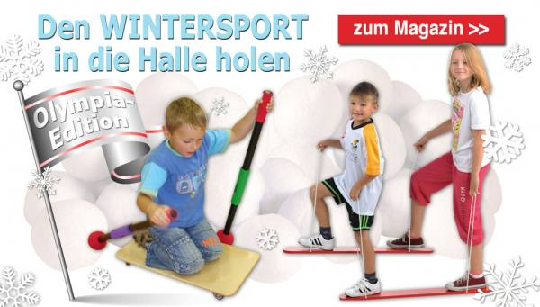 Startseite Wintersport in die Halle