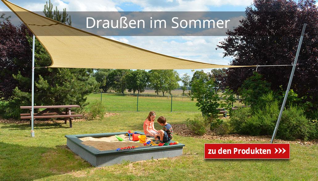 Draußen im Sommer