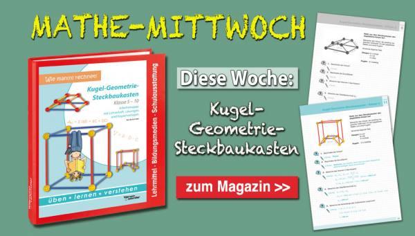Startseitengrafik Magazin Kugel-Geometrie-Steckbaukasten