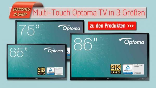 Brandneue Multi-Touch TVs im Sortiment