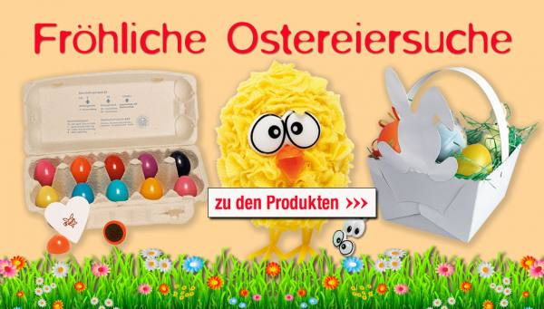 Fröhliche Ostersuche