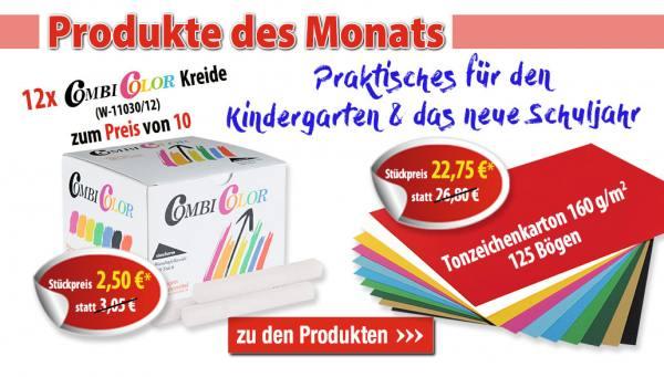 Produkte des Monats August