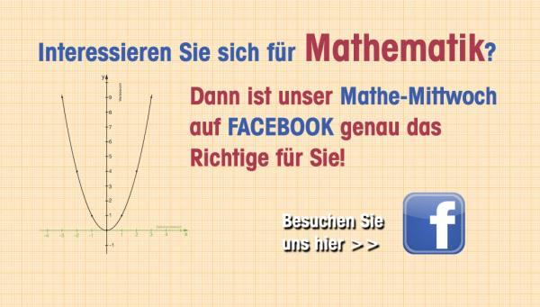 Mathe-Mittwoch Facebook Wiemann Lehrmittel