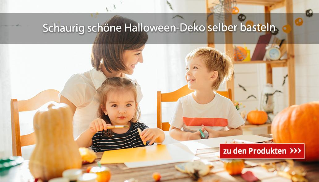 Schaurig schöne Halloween-Deko selber basteln