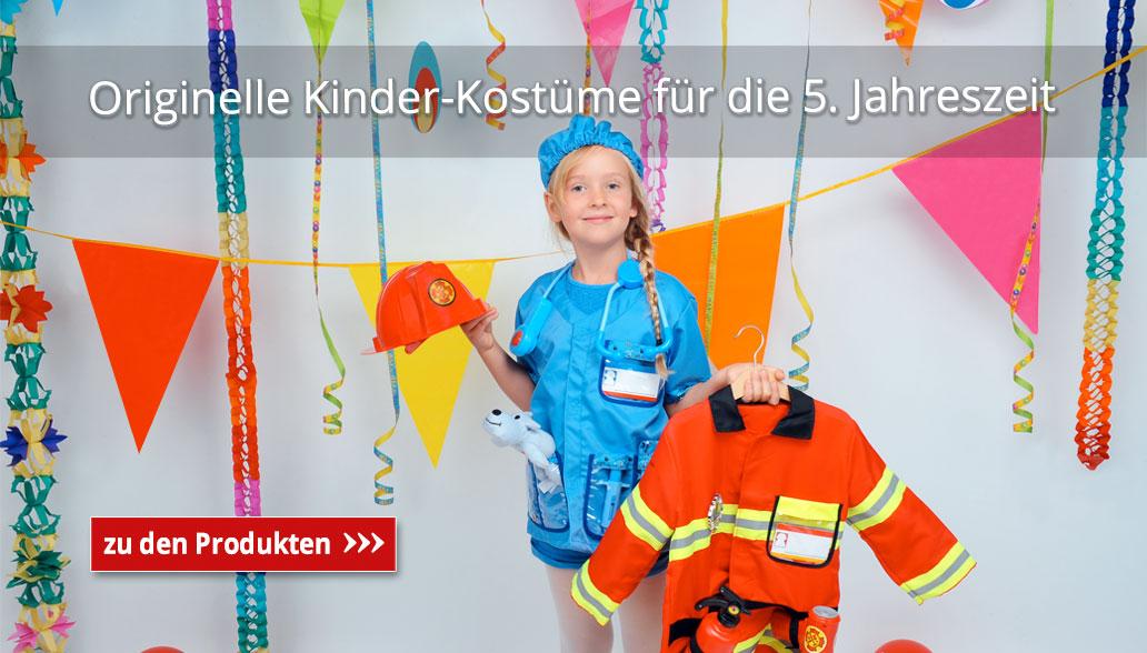 Originelle Kinder-Kostüme für die 5. Jahreszeit