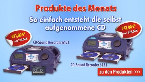 Produkt des Monats Februar: CD-Sound Recorder für hochwertige Au
