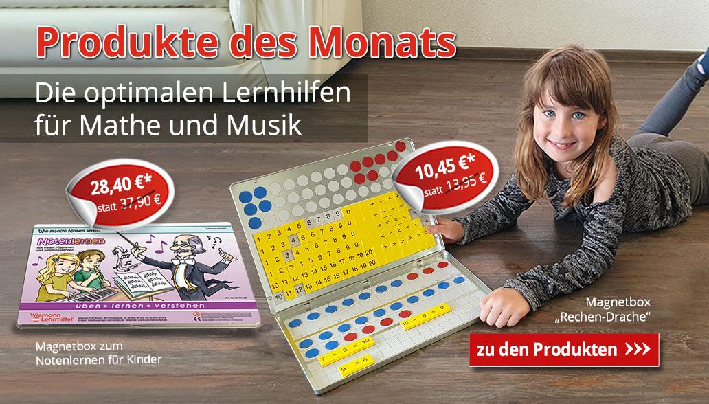 Die optimalen Lernhilfen für Mathe und Musik