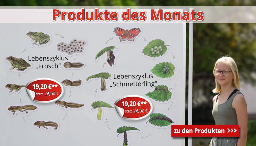 Produkte des Monats Juli