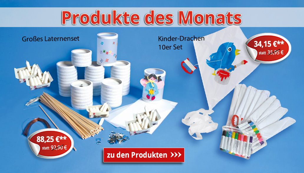 Produkte des Monats September