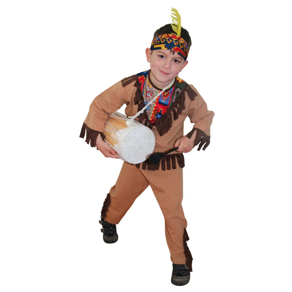 Indianer-Trommel
