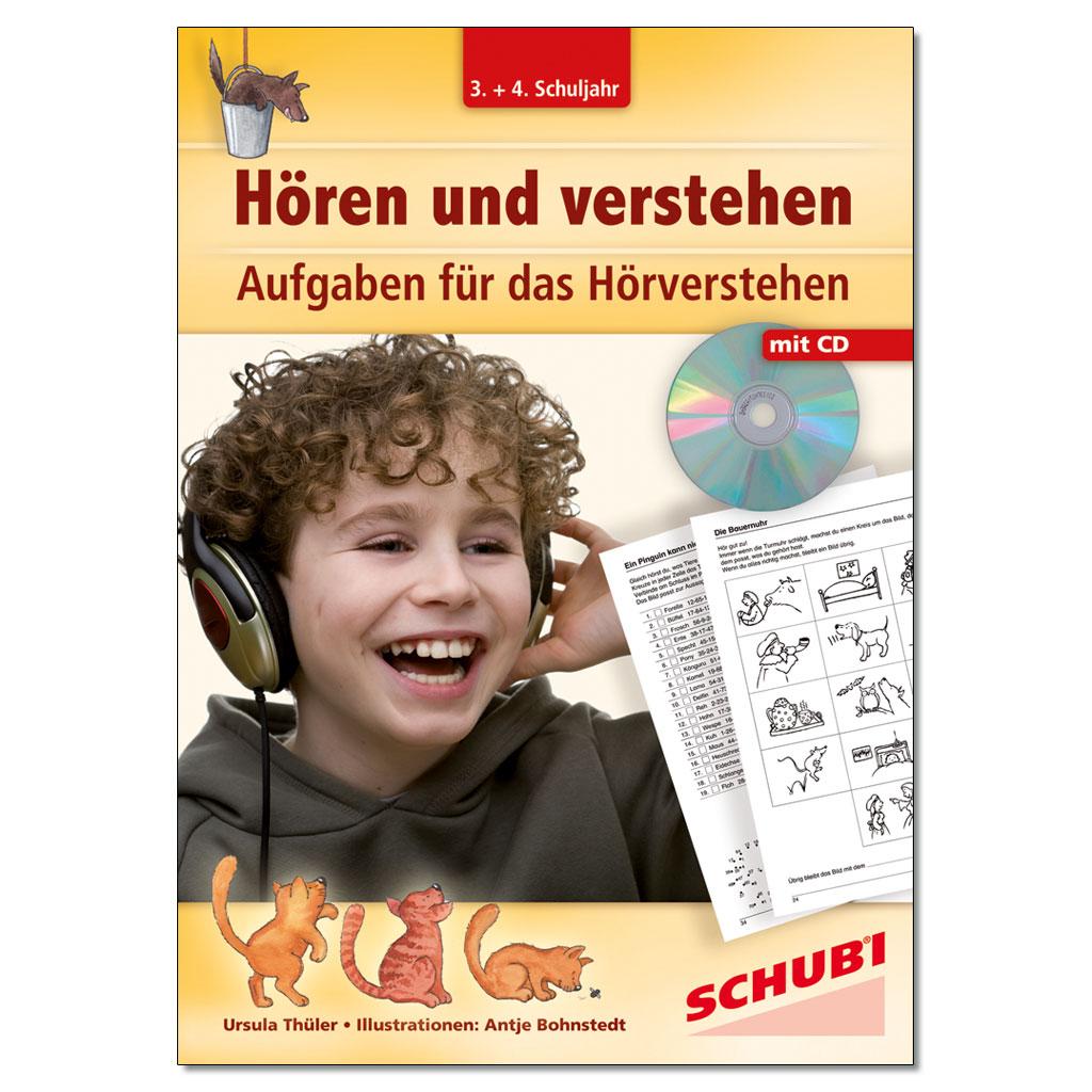 Hören und verstehen - CD & Arbeitsblätter