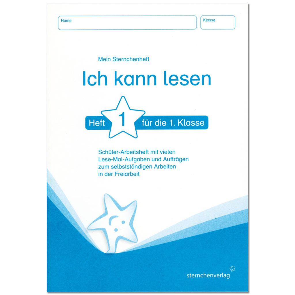 """Sternchenheft – """"Ich kann lesen 1"""""""