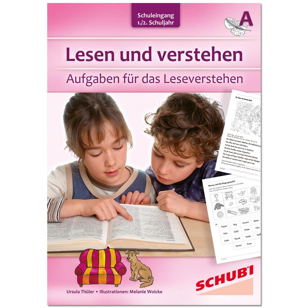 Lesen und verstehen –  1./2. Schuljahr A