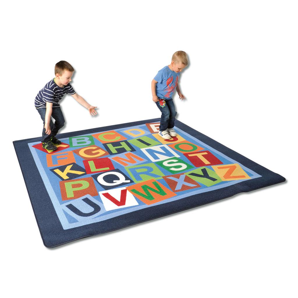 """Teppich """"Buchstaben"""" - 200 x 200 cm"""