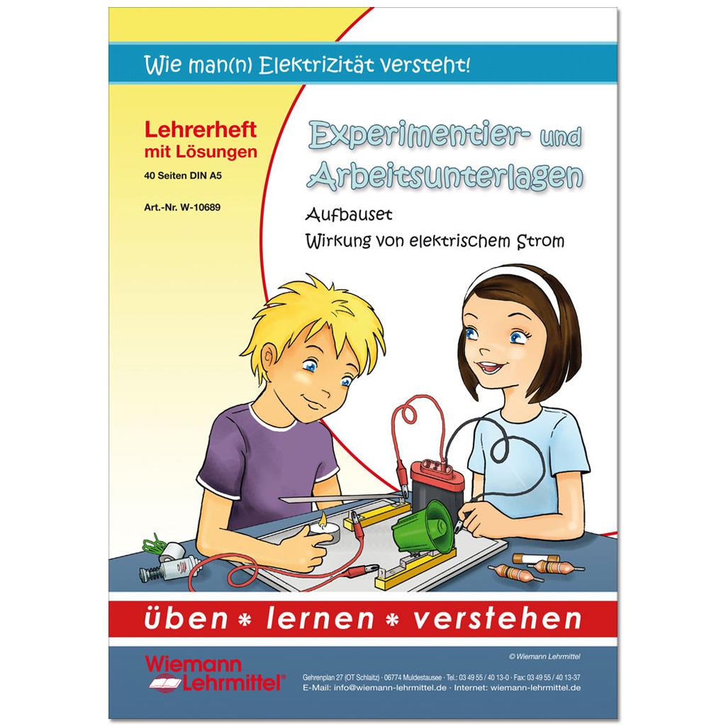 """Lehrerheft """"Wirkung von elektrischem Strom"""""""