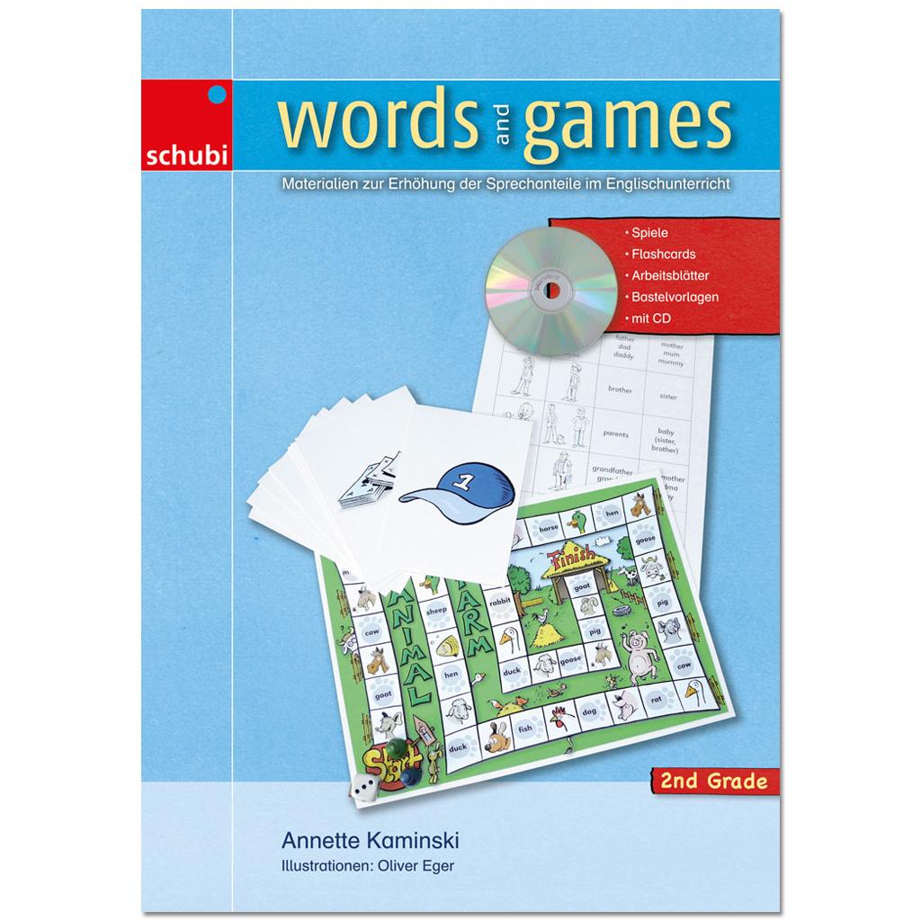 Words and Games 2st Grade – Klasse 2