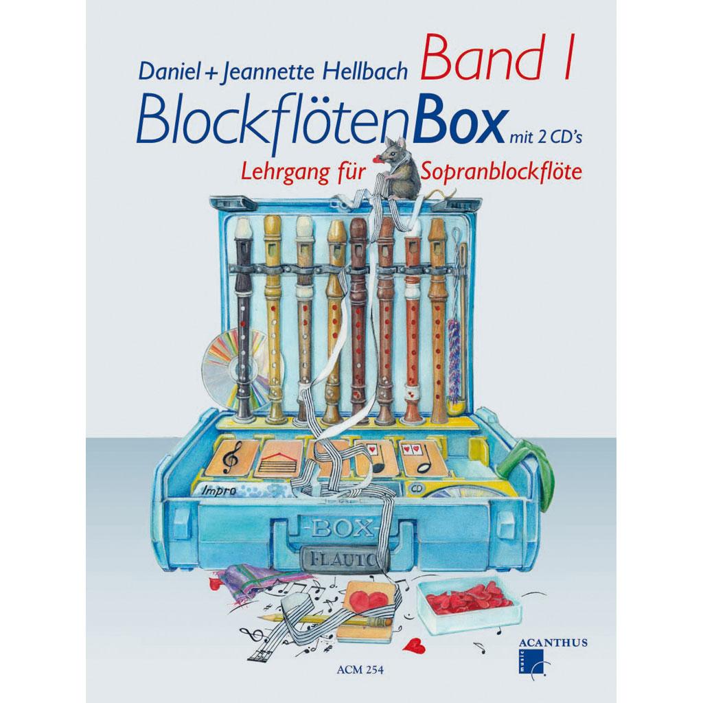 Lehrbuch für Blockflöten - Band 1
