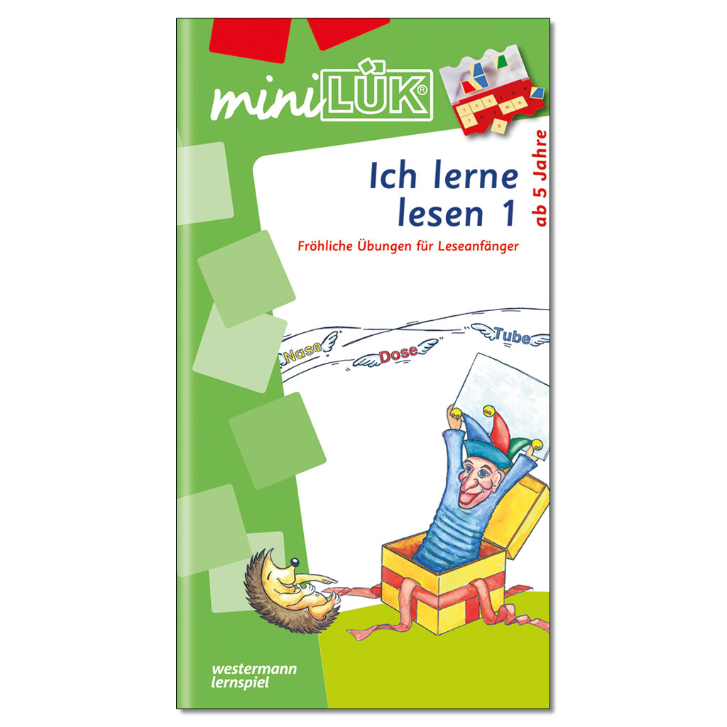 miniLÜK - Ich lerne lesen 1