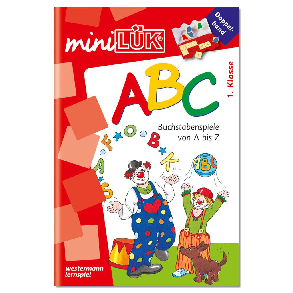 mini-LÜK – ABC-Buchstabenspiele