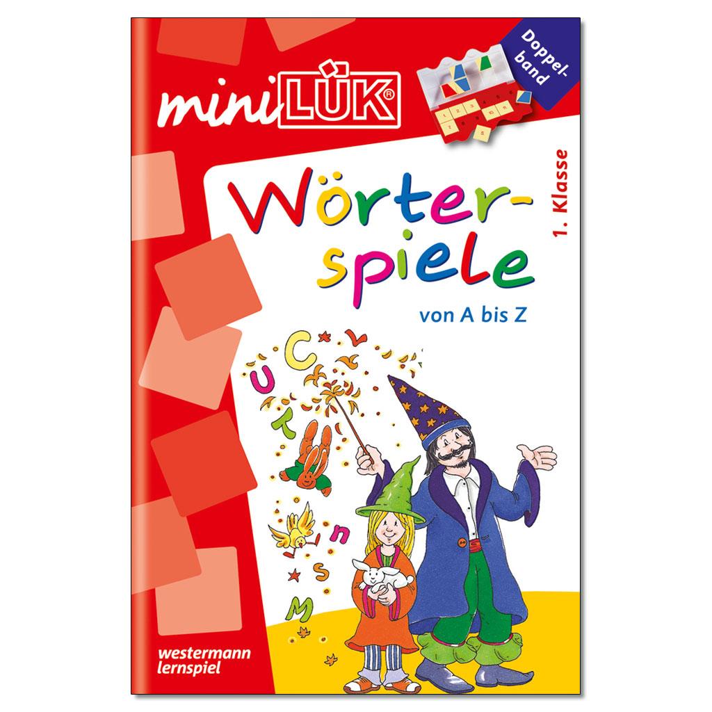 mini-LÜK – Wörterspiele von A bis Z