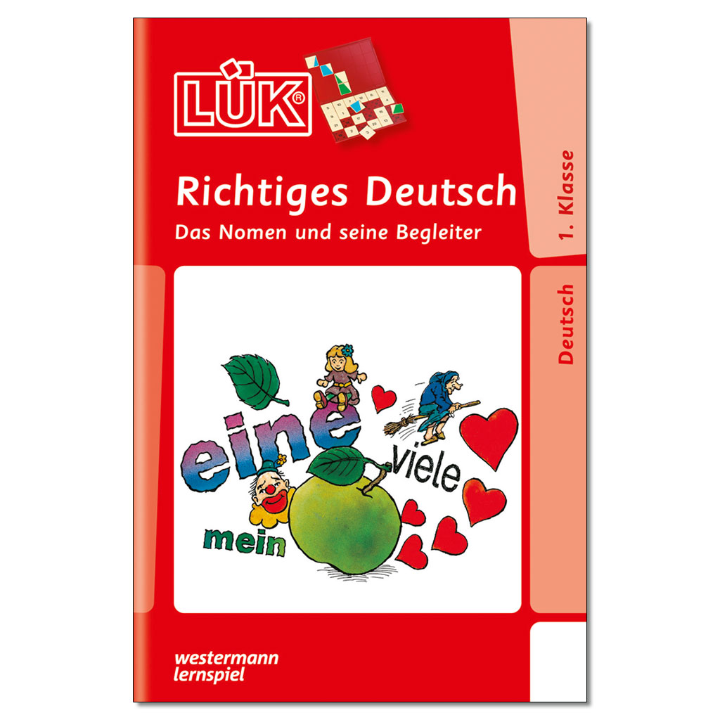 LÜK – Richtiges Deutsch 1. Klasse