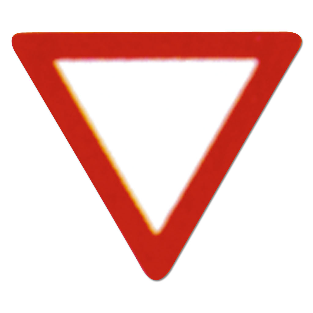 Verkehrszeichen zum Aufstellen 205