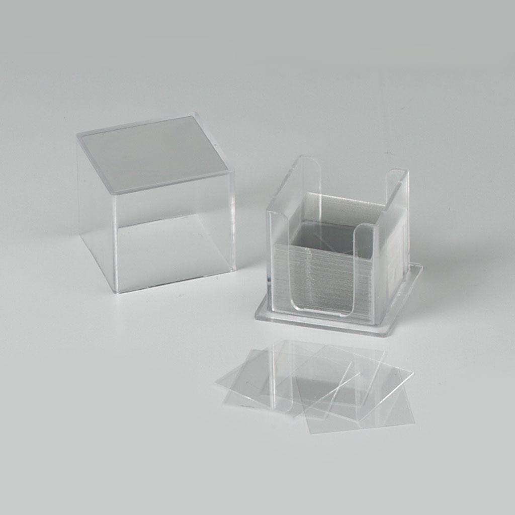 Deckgläser-Set 20 x 20 mm