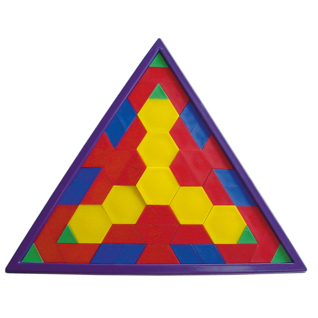 "Pattern -  Legerahmen  ""Dreieck"""