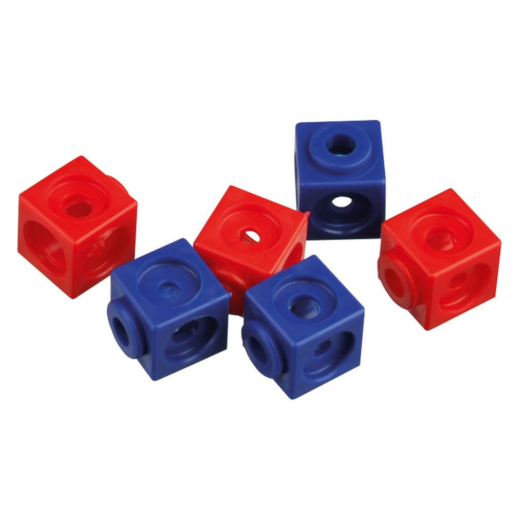 Steckwürfel – 100 Stück