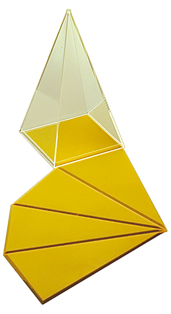 Prisma geometrischer korper