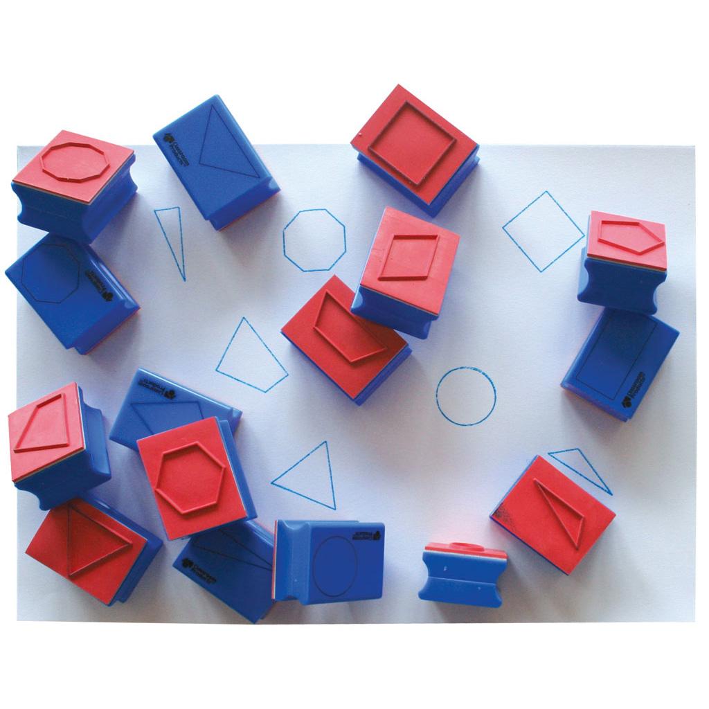 16-teiliger Stempelsatz B in Plastikbox