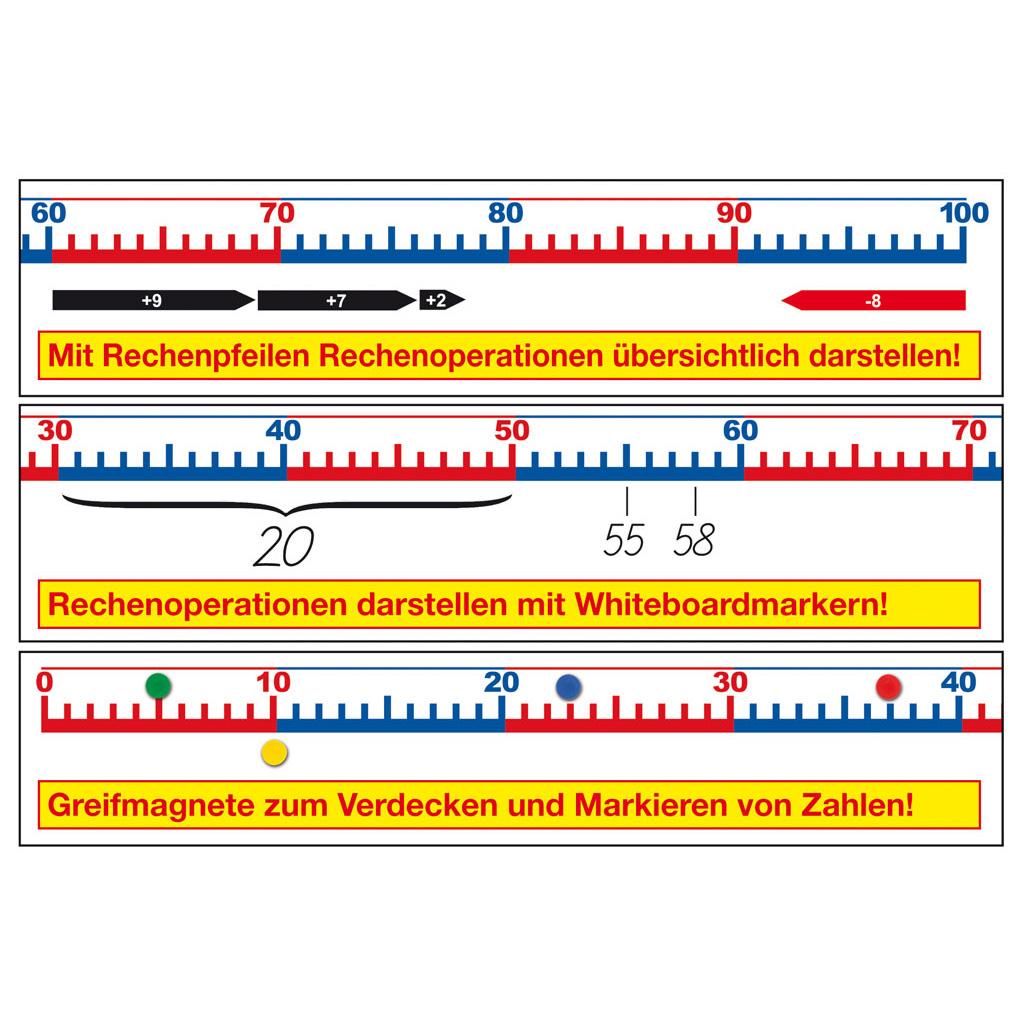 Magnet Zahlenstrahl Von 0 Bis 100 Hier Online Bestellen