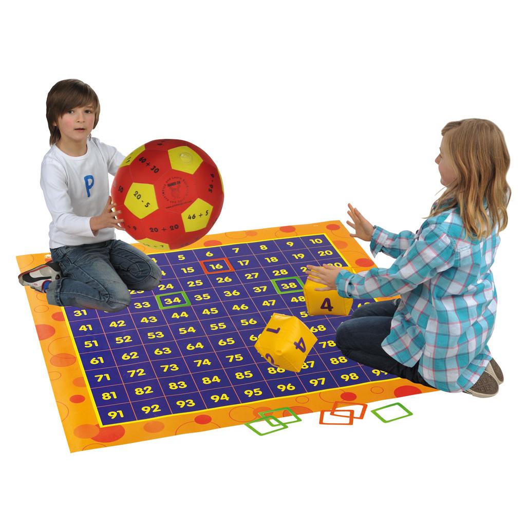 Set: Rechnen und bewegen im Zahlenraum bis 100