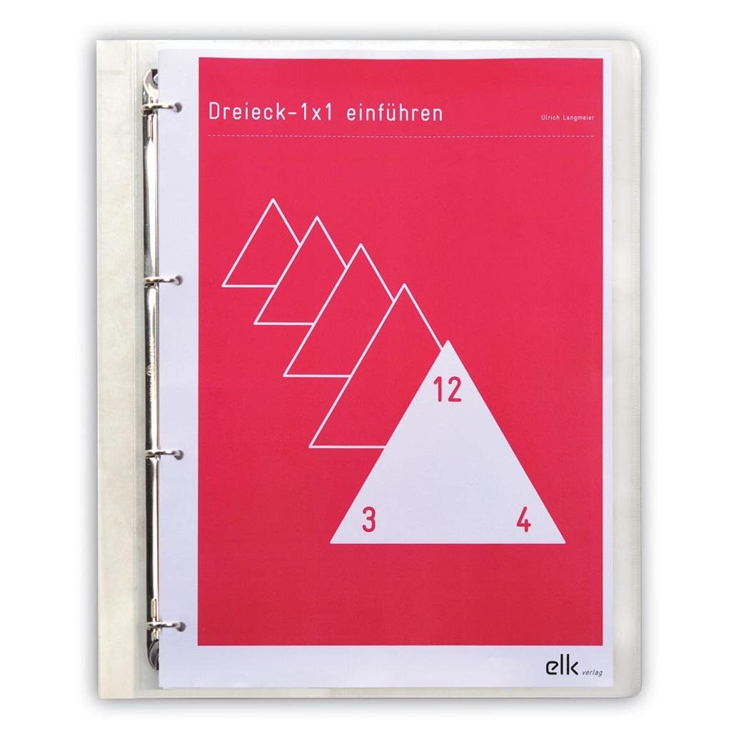 Kopiervorlagen zum Dreieck – 1 x 1 einführen