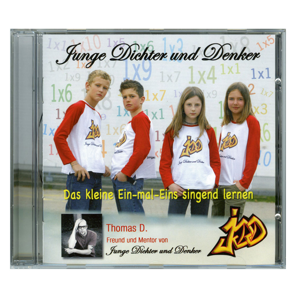 CD – Das kleine 1x1 singend lernen