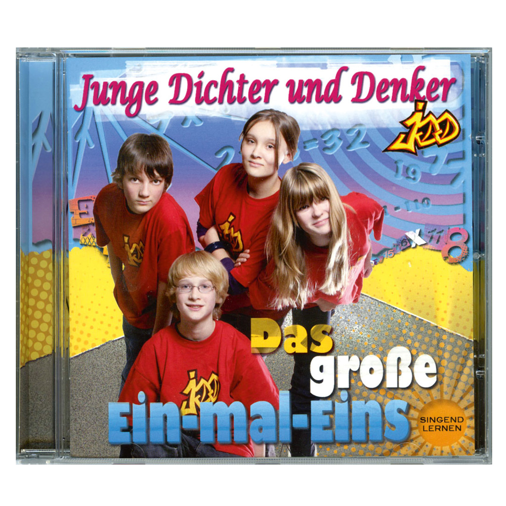 CD – Das große 1x1 singend lernen