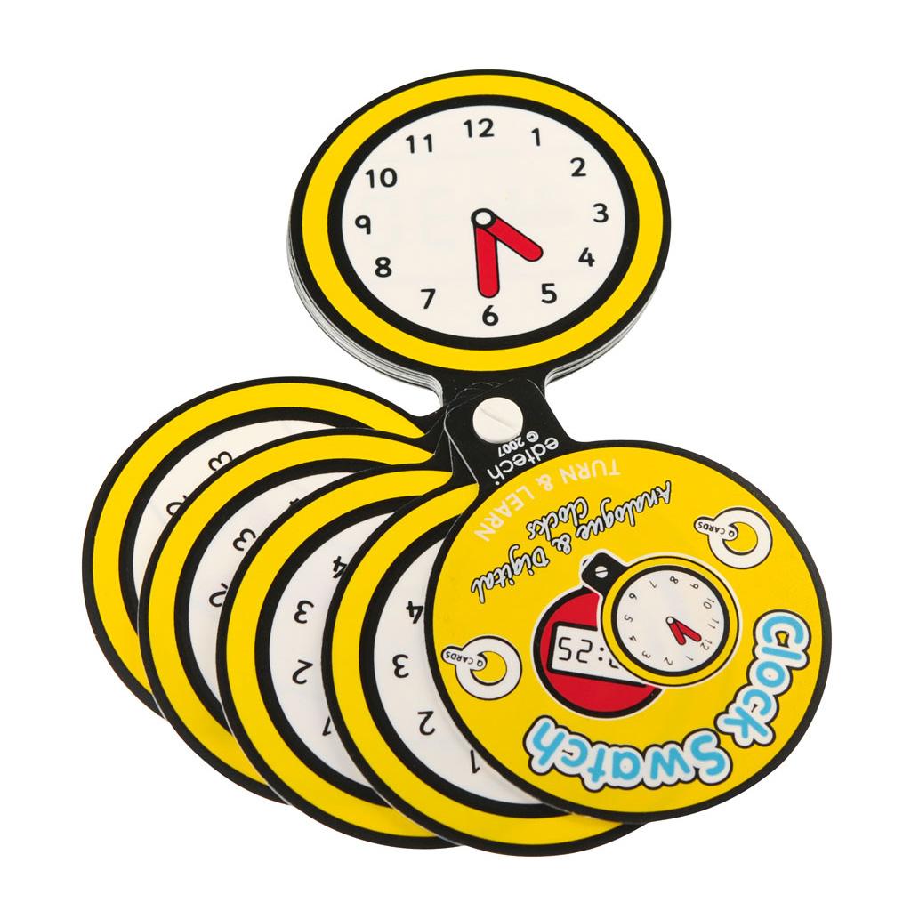 """Fächer-Set """"Wie spät ist es?"""""""