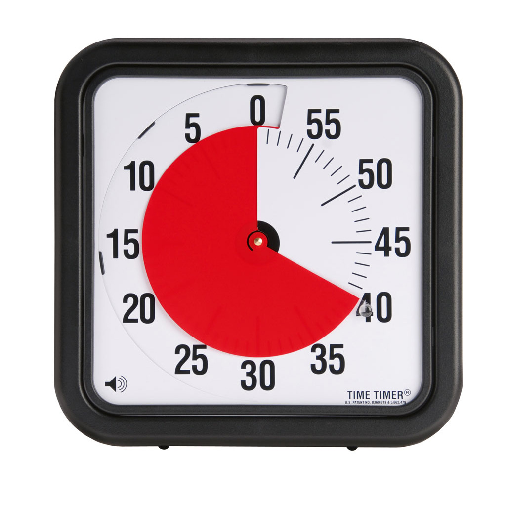Time Timer® mit Signalton – klein
