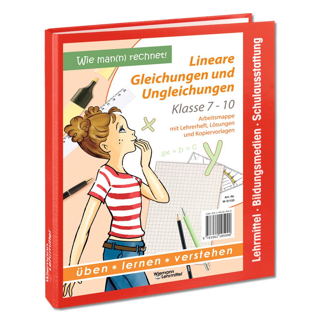 """Arbeitsmappe """"Lineare Gleichungen und Ungleichungen"""""""