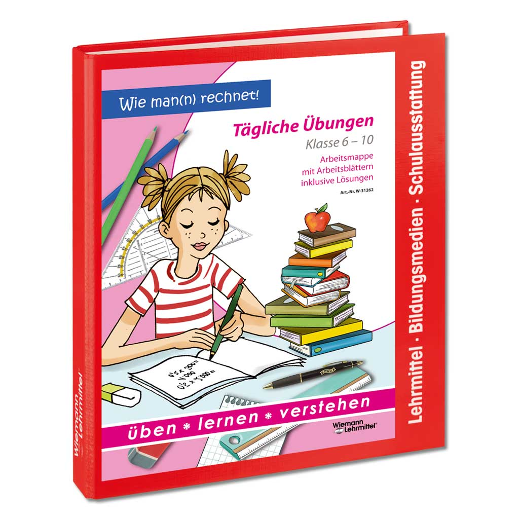 Arbeitsmappe Tägliche Übungen für den Mathe-Unterricht